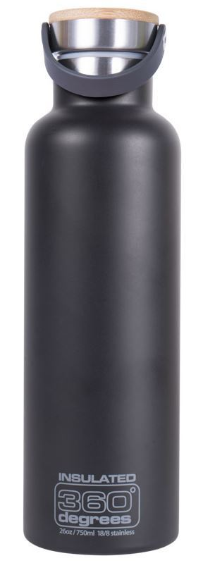 360 degrees vacuum insulated drink bottle 0 75l bdp. Black Bedroom Furniture Sets. Home Design Ideas