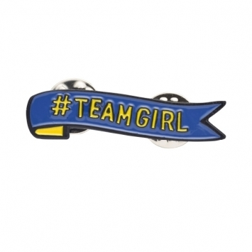 Team Girl Pin